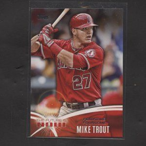 2014 TOPPS BASEBALL FUTURE IS NOW MIKE TROUT